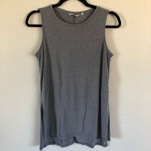 Athleta Side Slit High Neck Tunic Tank